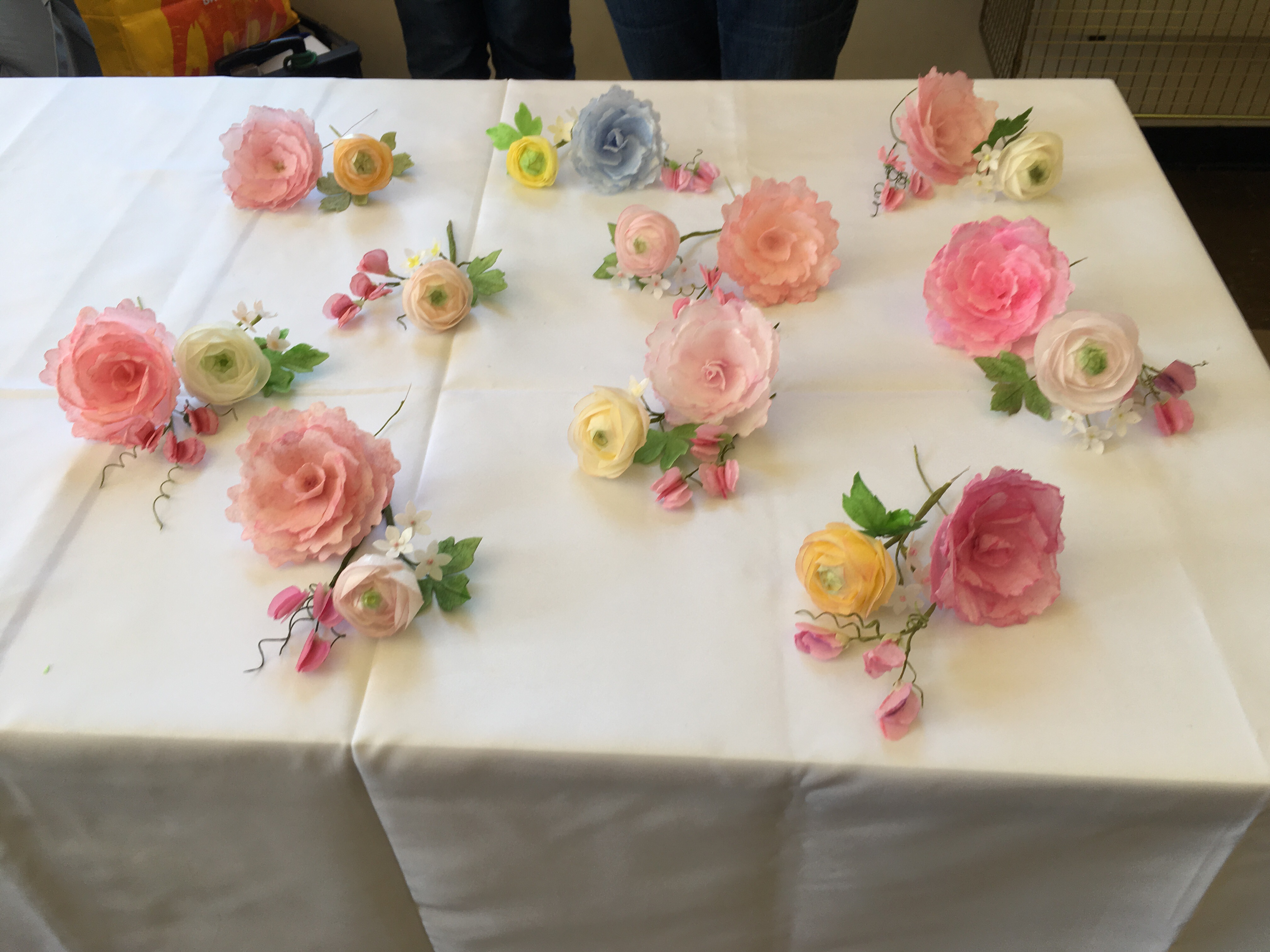 Rice flower workshop at Trowbridge Branch of the British ...